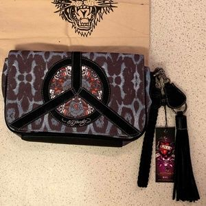 Ed Hardy Wristlet, New With Tags